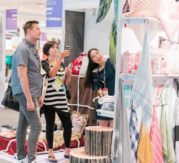 Home Textiles Sourcing Expo Summer 2018 takes place alongside Texworld USA and Apparel Sourcing USA. © Home Textiles Sourcing Expo