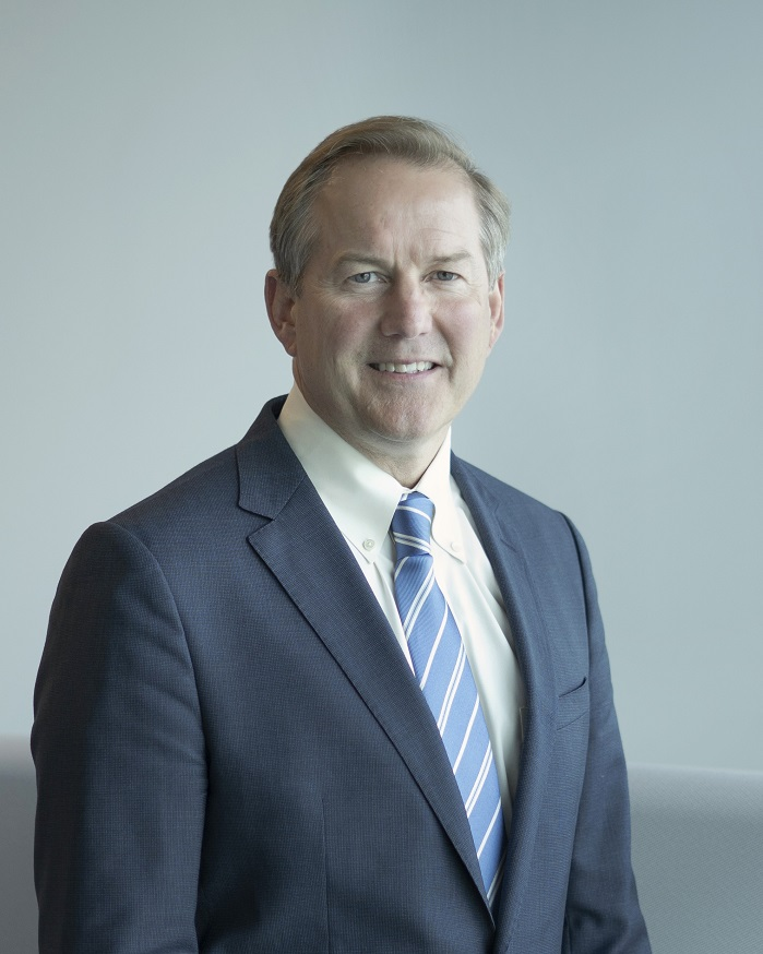 Halsey M. Cook Jr., new President and CEO. © Milliken & Company