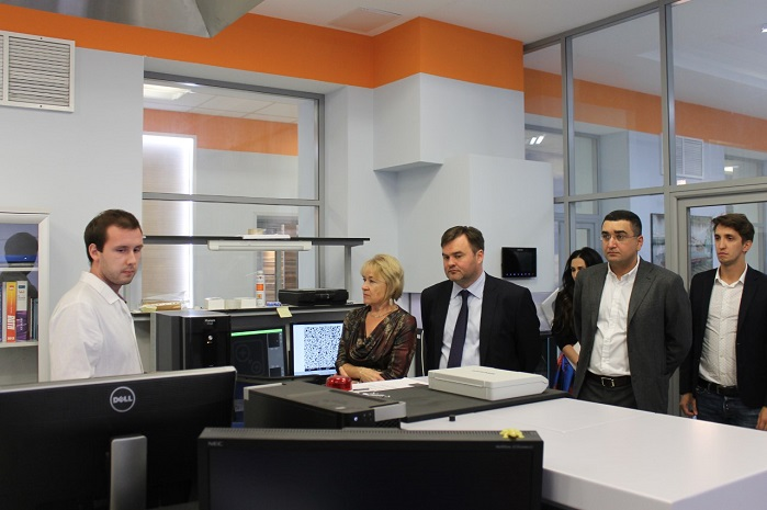 Inside Russian Innovation Research and Production Centre for Textiles and Light Industry.
