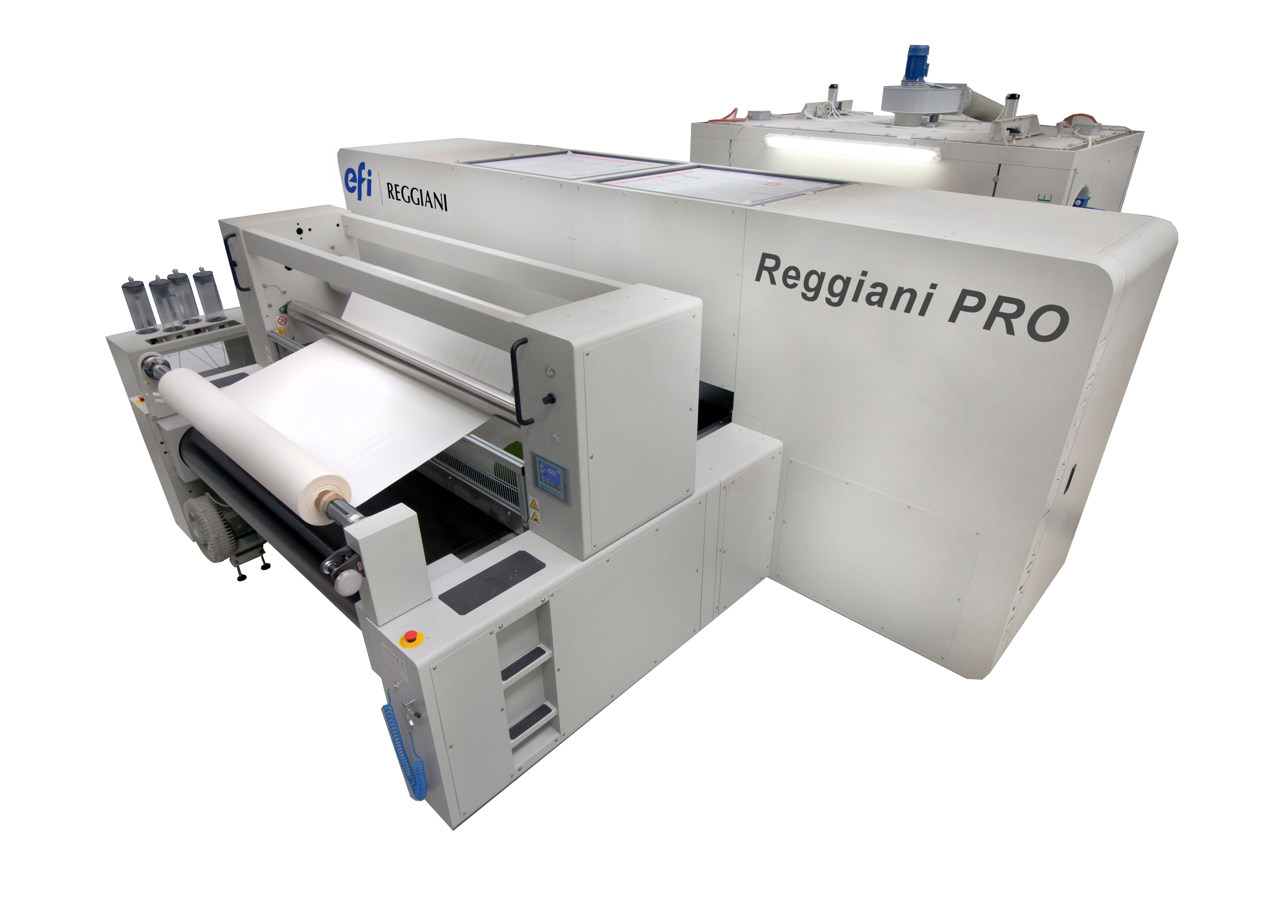 In 2015, EFI entered the textile printing marketing with the acquisition of Italian digital textile company Reggiani Macchine. © EFI