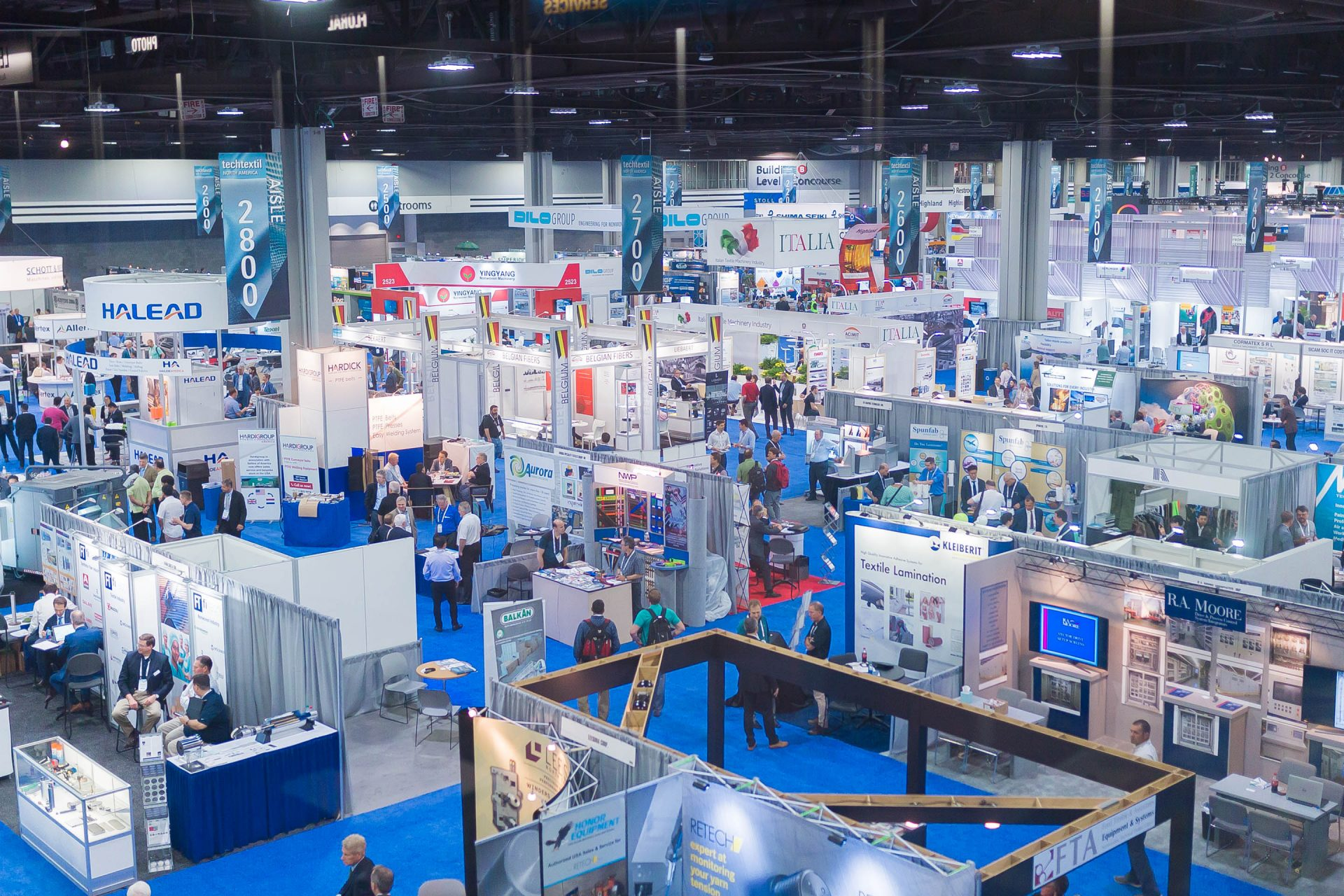 The upcoming edition of Techtextil North America will take place from 26-28 February 2019 in Raleigh, North Carolina. © Messe Frankfurt/Techtextil North America