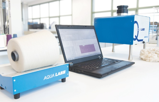 Aqualab is based on low frequency microwave technology. © Mesdan