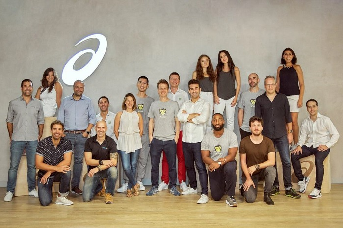 The five ambitious start-ups were selected from around the world. © ASICS