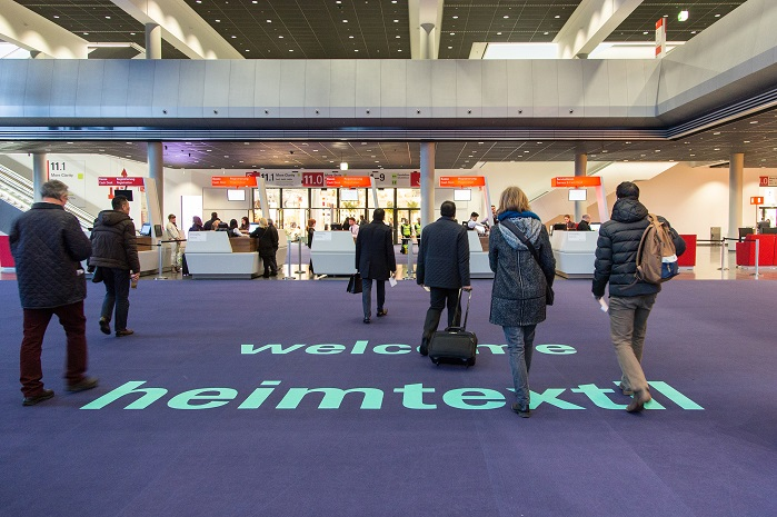 Heimtextil takes place from 8-11 January 2019 in Frankfurt. © Messe Frankfurt Exhibition/Jochen Günther