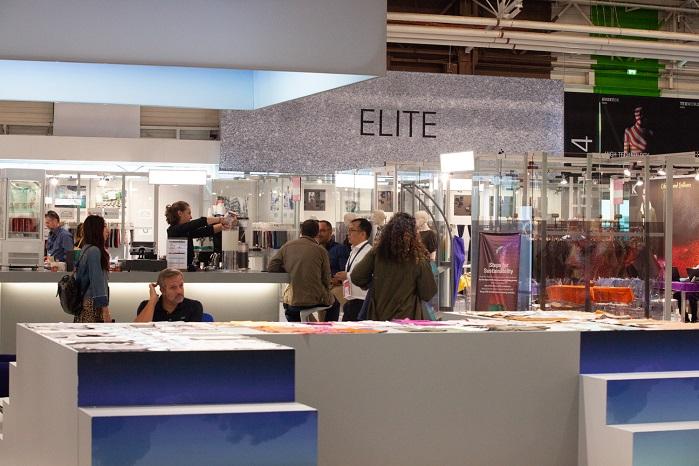 Elite at Texworld Paris. © Messe Frankfurt France