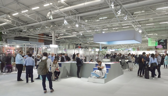Texworld Paris attracted 1,058 visitors from 27 countries. © Messe Frankfurt France