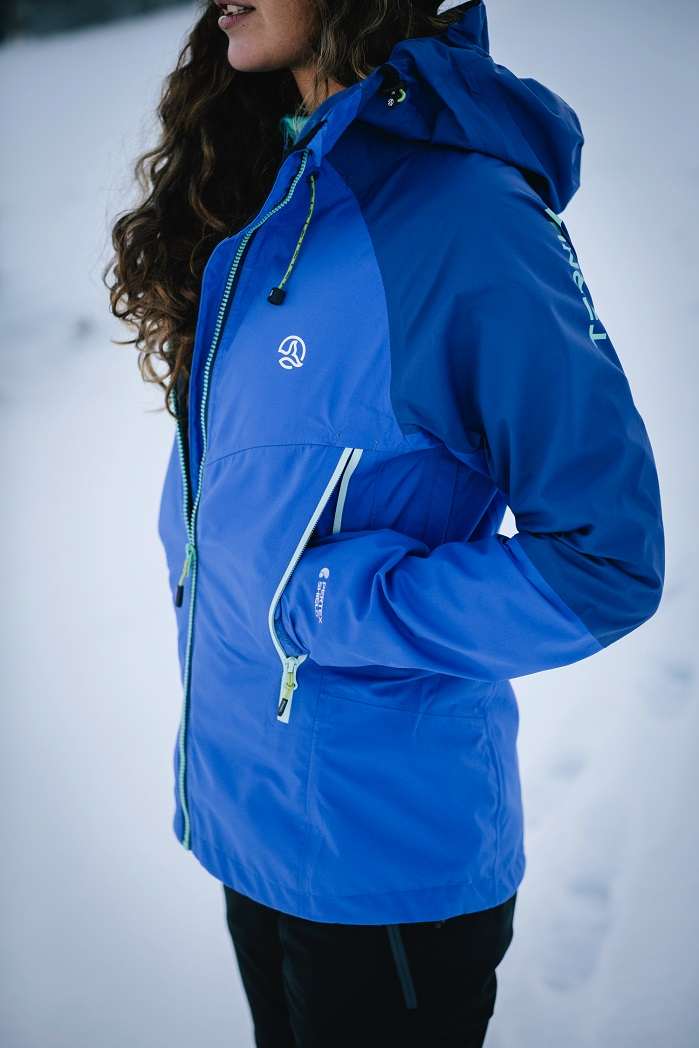 Winter 2018 collection is treated with fluorocarbon-free water-repellency treatments. © Ternua