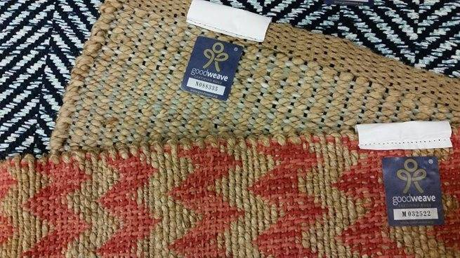 GoodWeave labelled rug © Target, https://corporate.target.com