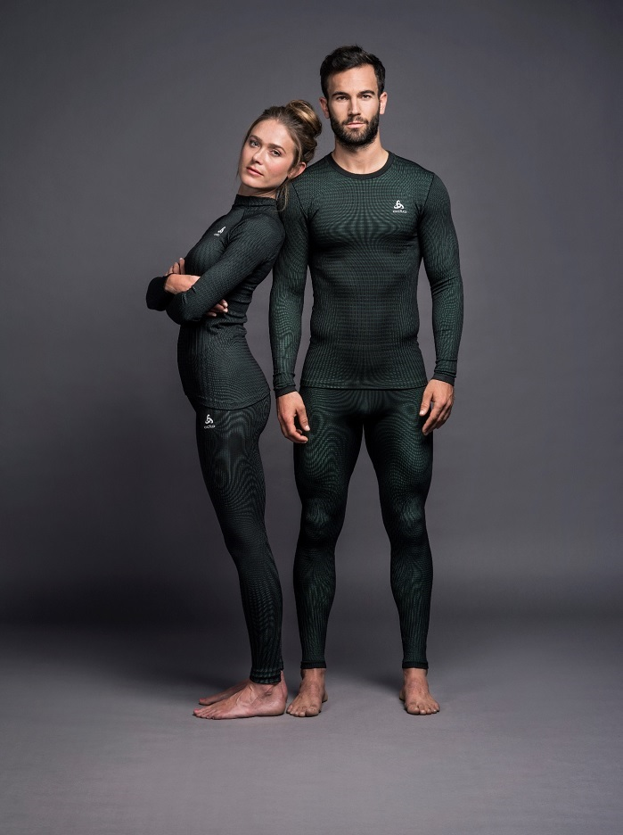 Odlo Futureskin performance base layer in collaboration with Zaha Hadid Design. © Odlo