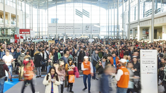 For the first time ISPO Munich 2019 presents its eight exhibition areas in 18 halls. © ISPO