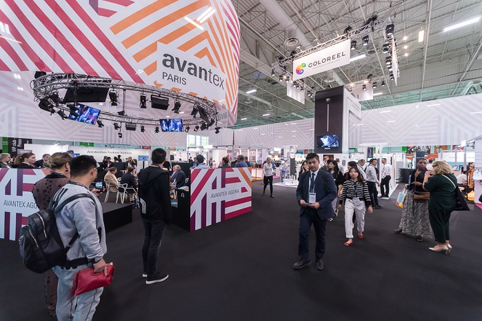 In September 2018, the show hosted 38 exhibitors from 9 countries. © Messe Frankfurt/Avantex Paris