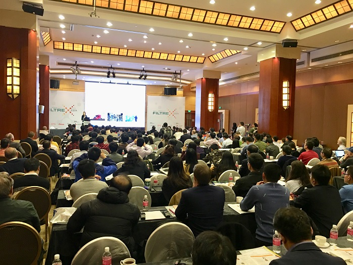 Over 200 key stakeholders gather for premier Asian filtration conference. © EDANA