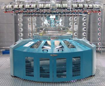 Santoni develops 90 gauge large diameter circular knitting machine